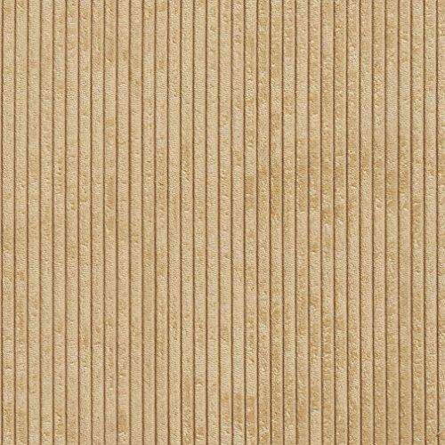 Camel Corduroy (B0700B Camel Corduroy Striped Soft Velvet Upholstery Fabric By The Yard)