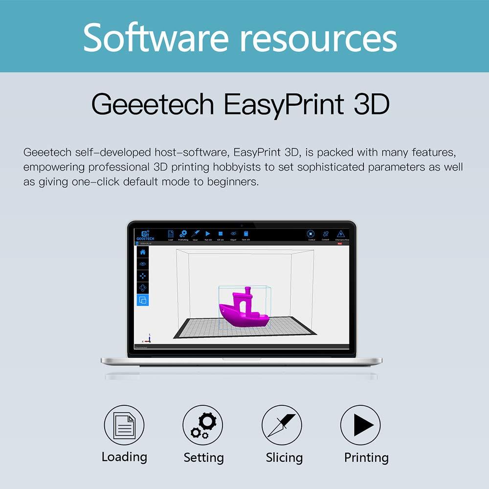 Geeetech A10 3d impresora Aluminio DIY Kit i3 alta precisión cnc ...