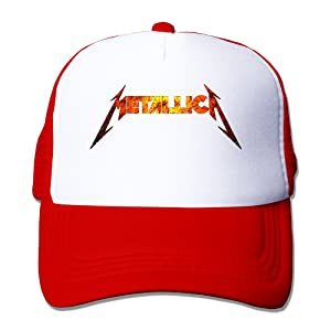 American Heavy Metal Band Women Adjustable Baseball Hat Mesh Caps