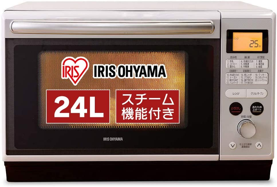 【アイリスオーヤマ】スチームオーブンレンジ MO-F2402 24L