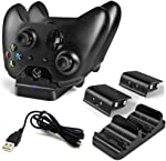 LinkBand Compatible with Xbox One/One X/One S Controller Charger, Dual Slot