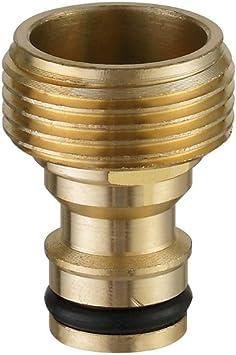 Gartenwasserschlauch Messing 1//2 /'/' Schnellverbinder Verbindungsstück