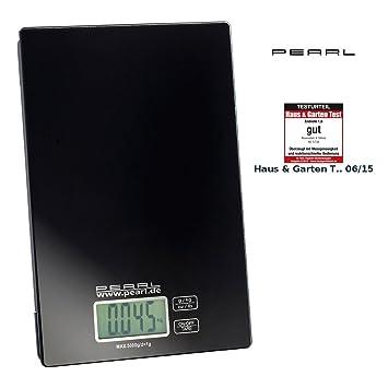 Pearl Digital Báscula de cocina: Digital Báscula de cocina, hasta 5 kg, pantalla LCD, Touch Sensor de distancia (Precisión digital Báscula): Amazon.es: ...