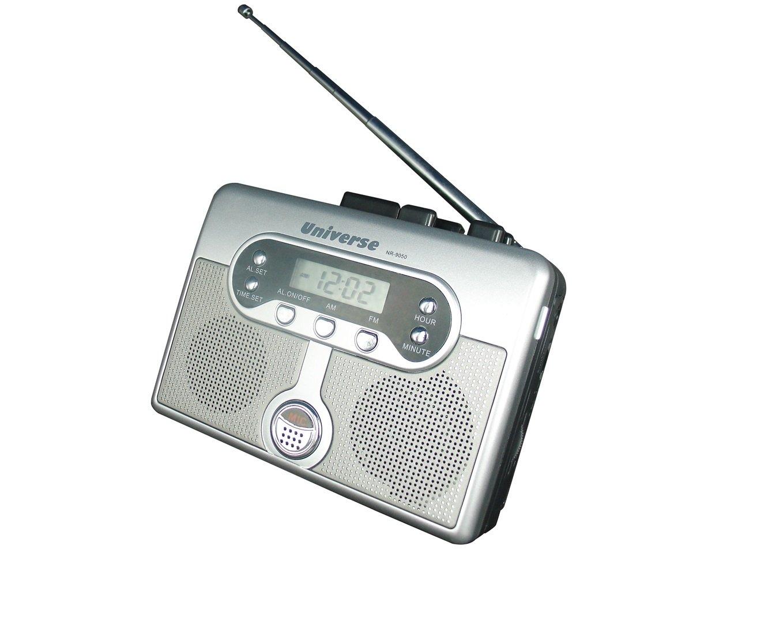 Walkman Cassette Player & Recorder & Radio & Alarm Clock UNIVERSE