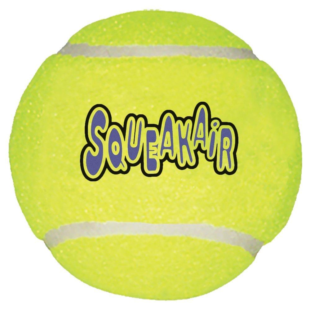 KONG SqueakAir Tennis Ball SqueakAir Ball Bulk X-Large ASTXB