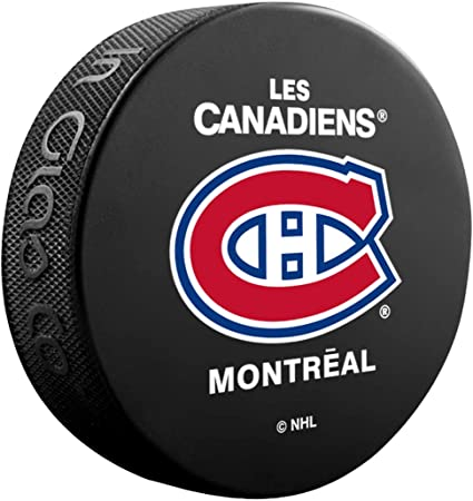 Montreal Canadiens Officially Licensed Hockey Puck