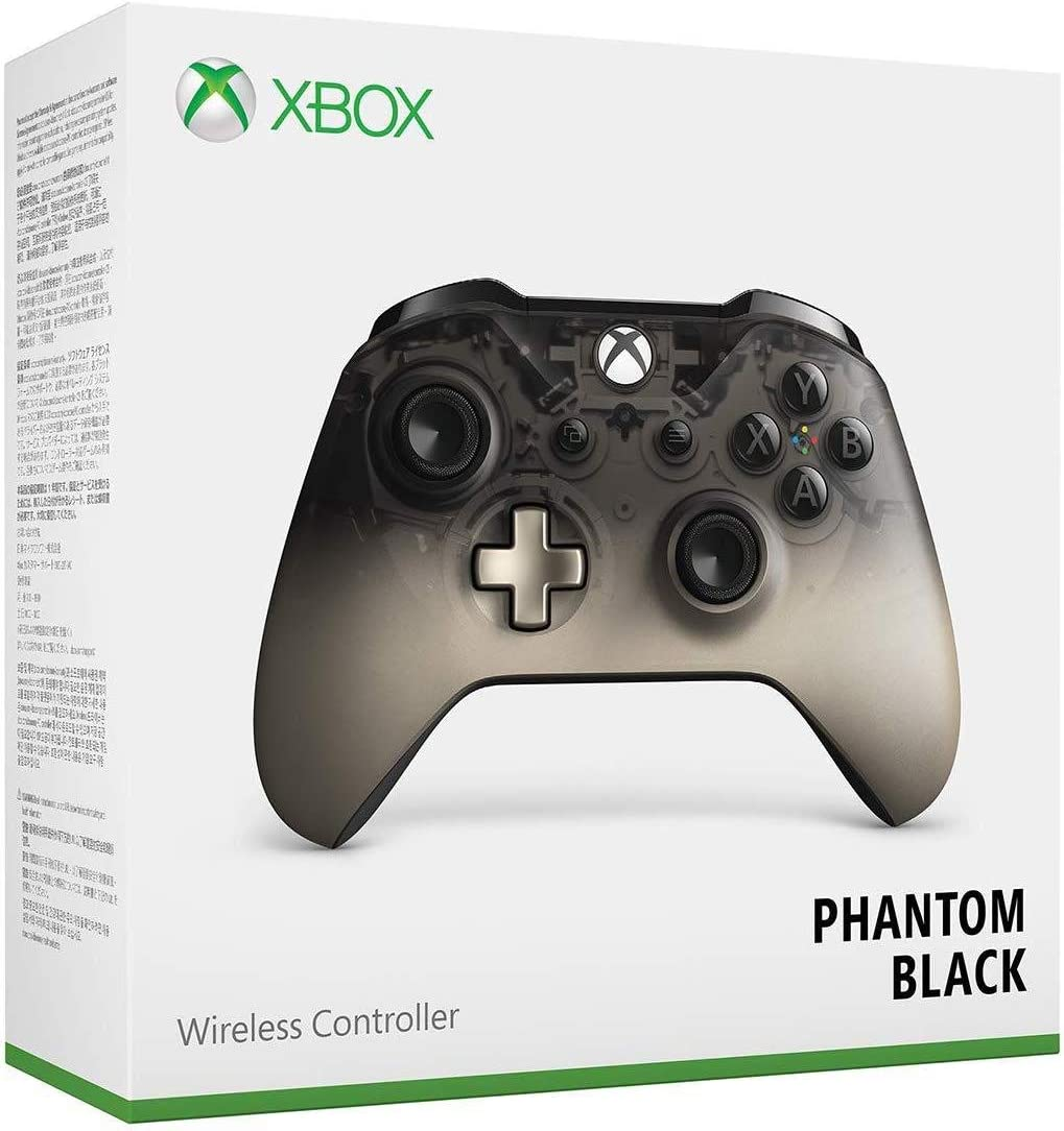 Microsoft Xbox Wireless Controller - Phantom Black Special Edition - Xbox One