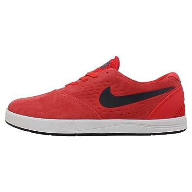 Nike Eric Koston 2 Mens Skateboarding Shoes (LIGHT CRIMSON/BLACK/CRYSTAL MINT) (6.5)