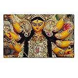 MSD Natural Rubber Large Table Mat IMAGE ID: 5667880 Durga Puja Festival in Kolkata Bengal India
