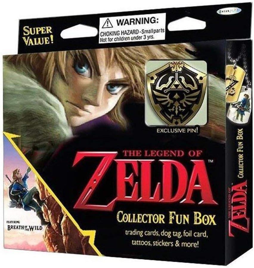 Zelda Cartas Coleccionables Box en Inglés (No jugables): Amazon.es: Juguetes y juegos