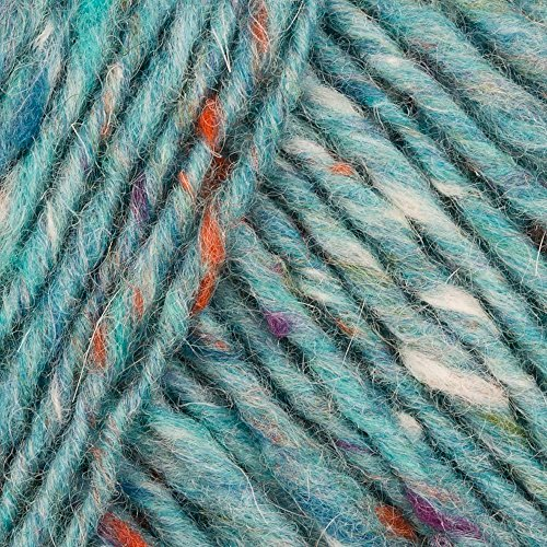 Debbie Bliss Donegal Luxury Tweed Aran 48 Aqua