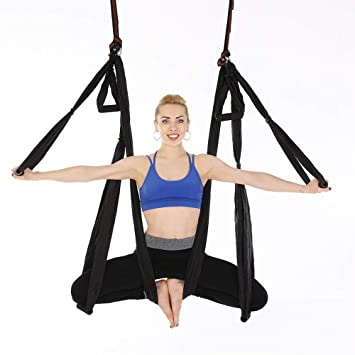 DZW Antigravity Ceiling Hanging Yoga Sling Inversión ...