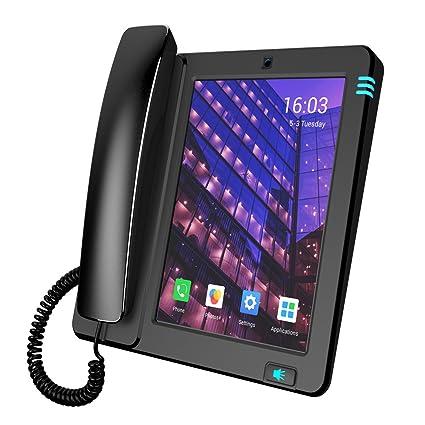 amazon com gcord smart landline telephone multimedia telephone
