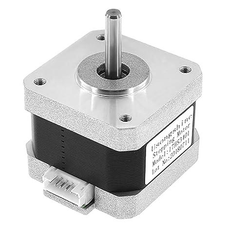 Fansport Impresora 3D Motor Paso A Paso 4 Cables Nema 17 Motor ...