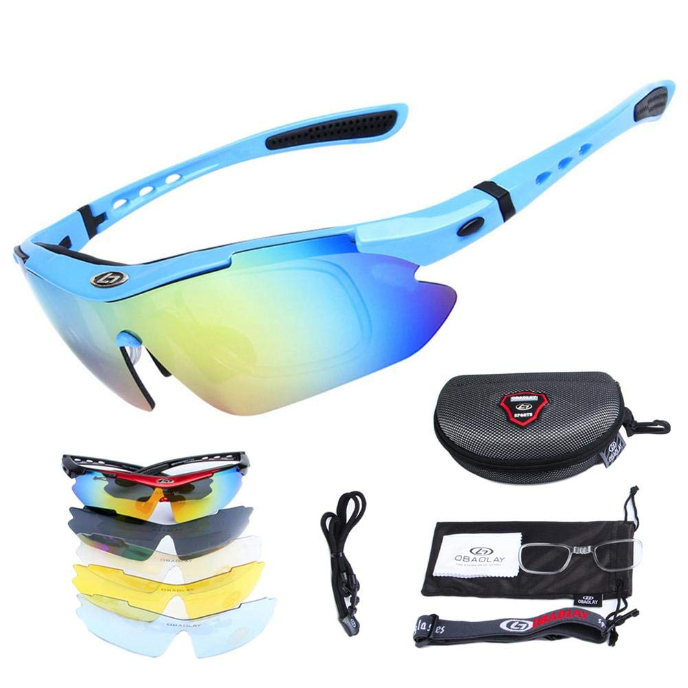 SH-Flying Gafas polarizadas, Lentes antirayos UV y Cortas, 5 ...
