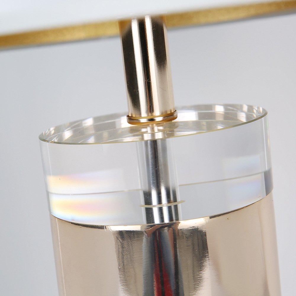 JINSHUL Metall Luxus Atmosphäre Kristall Basis Wohnzimmer Schlafzimmer Dekoration Dekoration Dekoration Engineering Tischleuchte B07HVYVLM1   Modisch  41b4dc