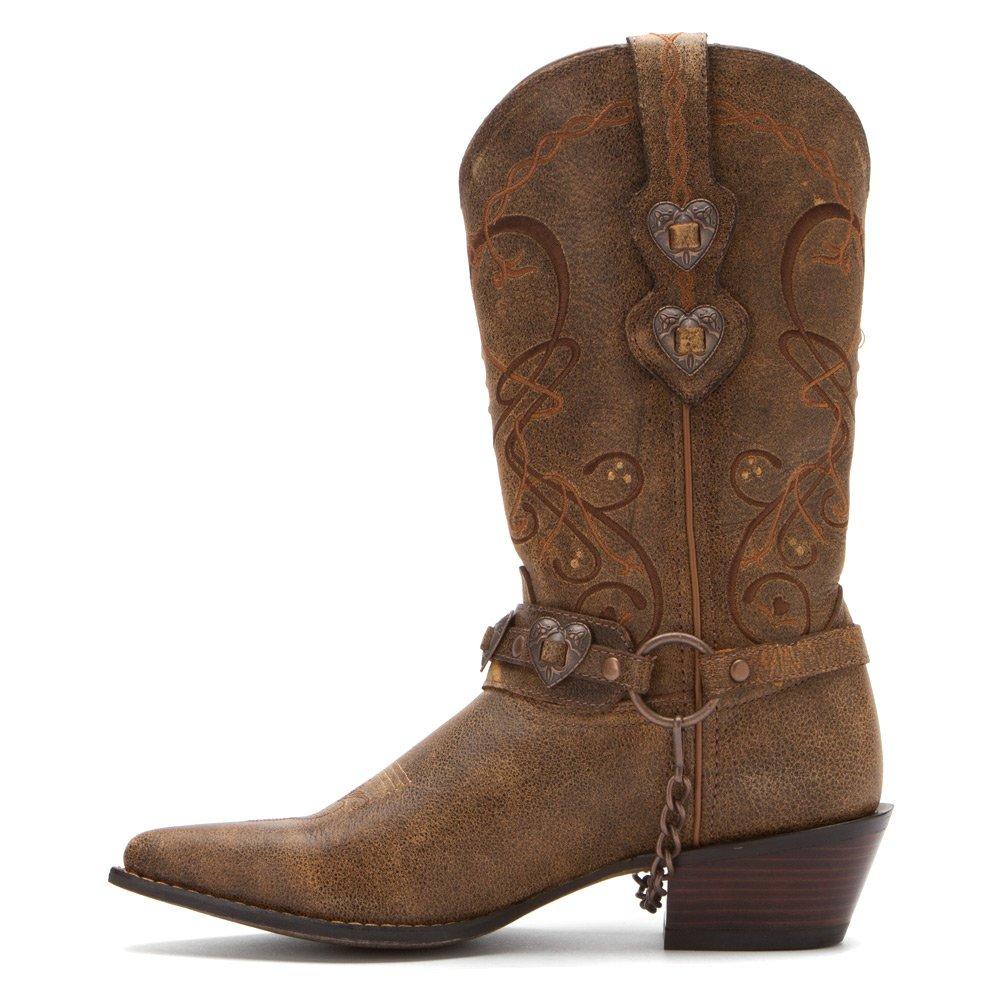 Durango Women's 6 Crush Cowgirl Boot B005SK1WEK 6 Women's B(M) US|Dark Brown 3a59ea