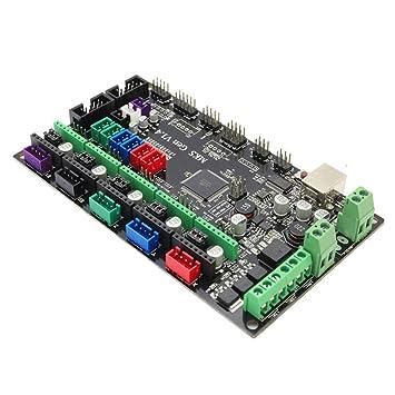 Jiayuane Impresora 3D Tarjeta controladora MKS Gen V1.4 Placa Base ...
