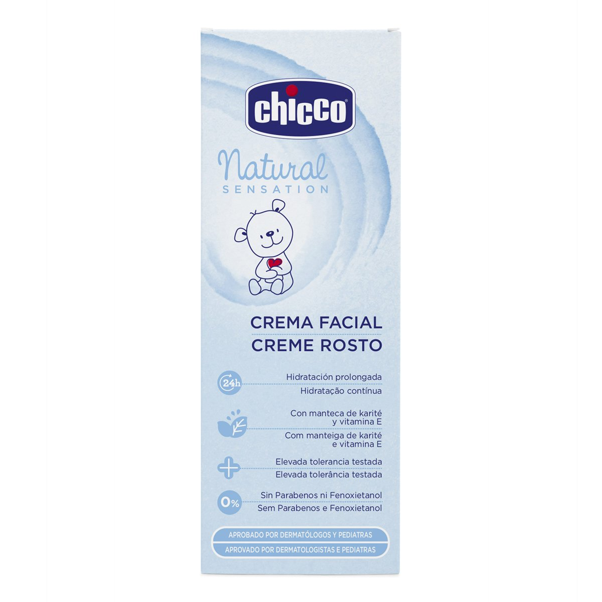 Buy Chicco Natural Sensation Face Cream Blue 50ml Online At Low Baby Moments Nappy 100ml Prices In India