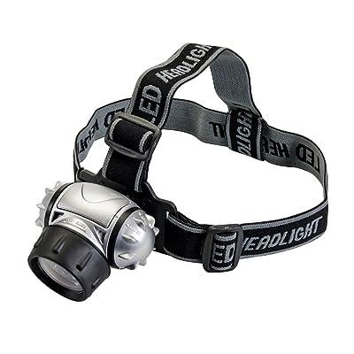 Silverline 140079 Lampe frontale 12 LED
