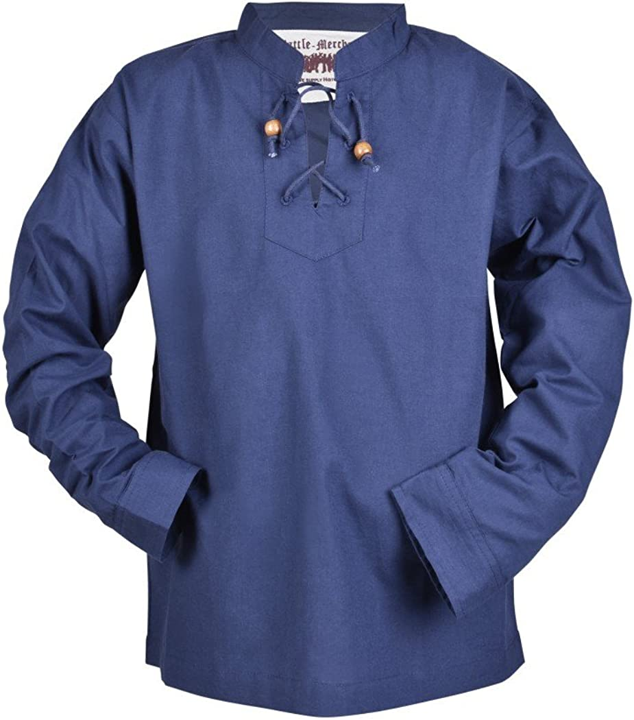 Camisa Medieval Colin para niño - para Larp Vikingo como Caballero - Diferentes Modelos: Amazon.es: Ropa y accesorios