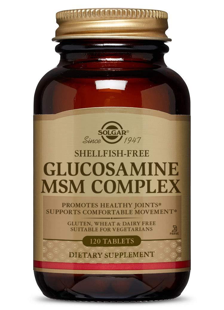 Amazon.com: Solgar Glucosamina MSM Complex tabletas, 120 ...