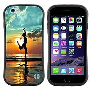 Hypernova Slim Fit Dual Barniz Protector Caso Case Funda Para Apple (5.5 inches!!!) iPhone 6 Plus / 6S Plus ( 5.5 ) [ Ombre Relief]