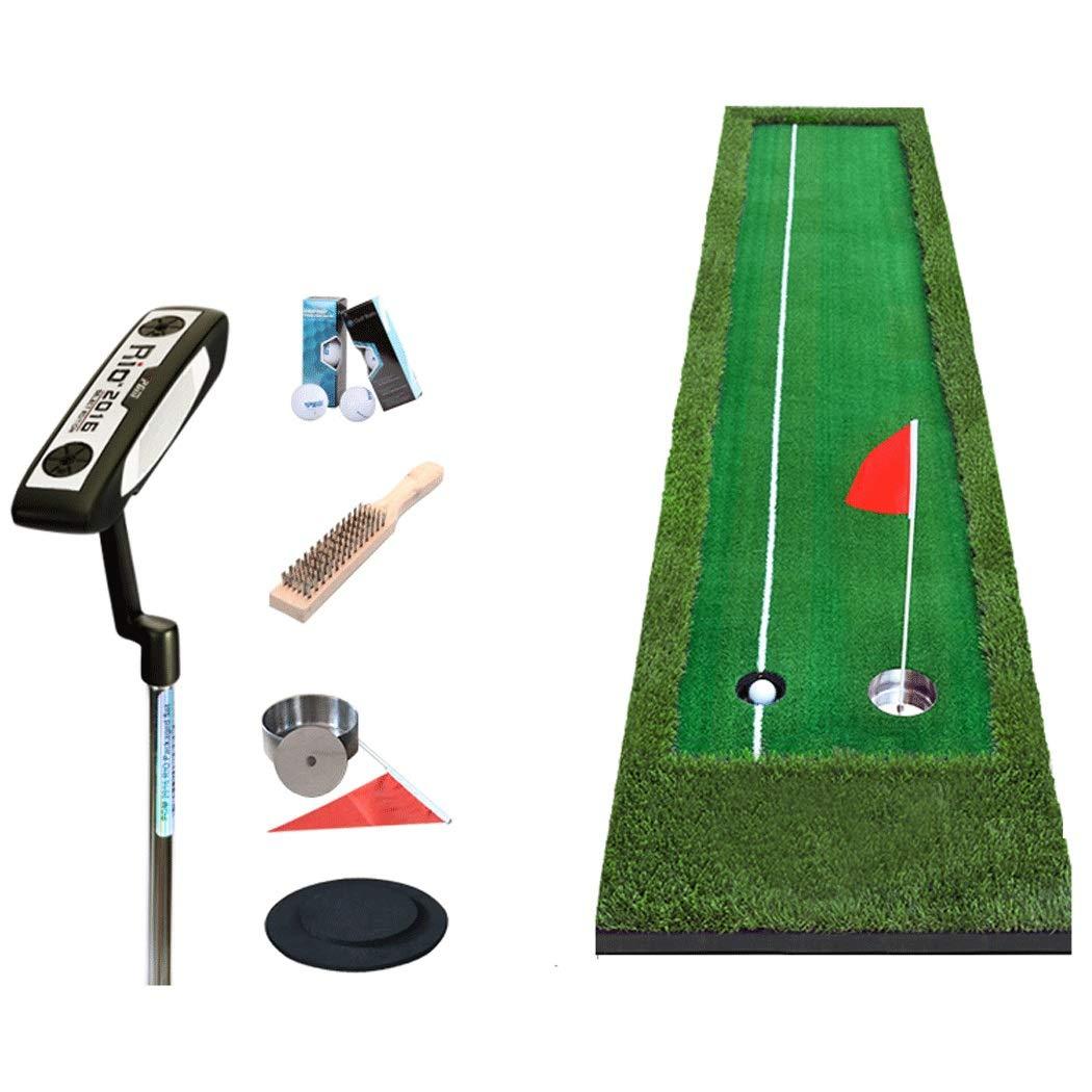 HUIFA 屋内ゴルフセットパターエクササイザオフィスグリーンボール練習毛布300 * 50 cm 300 * 75 cm あなたを健康で強くすることができます 300*50cm 緑 B07QGMX28N