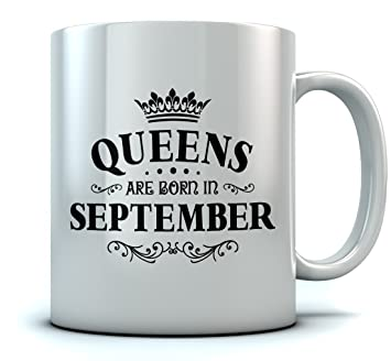 Amazoncom Queens Are Born In September Birthday Gift For Women