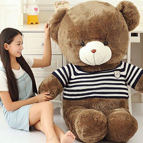 Stuffed Animal Teddy Bear Plush Soft Toy 80CM Huge Soft Toy Pink - 5