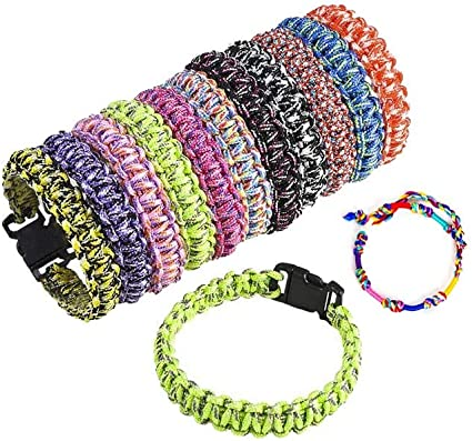 550 paracord bracelet choose from a dozen colours and any size required