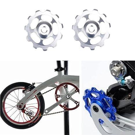 VΛ 2 Piezas de desviador Trasero para Bicicleta de Aluminio con ...