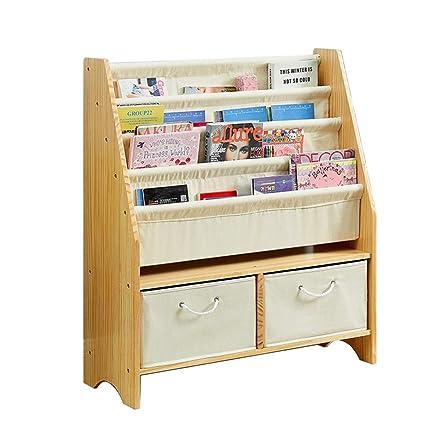 on sale fe684 54d43 Amazon.com: BOOK CASE Bookshelves Solid Wood Children's ...