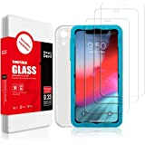 SMARTDEVIL 3 Pack Screen Protector Foils for Apple iPhone XR Protective Tempered Glass Film for 6.1 Inch Screen with…