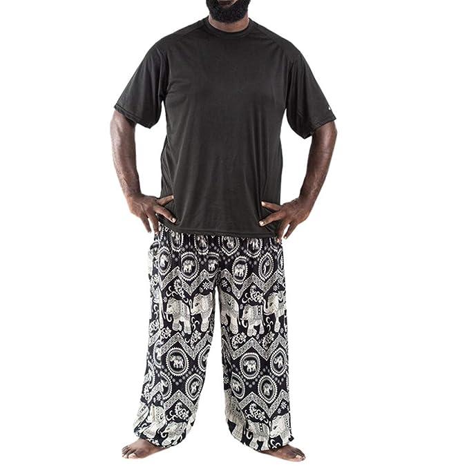 Pantalones De Verano para Hombres Pantalon Lino Hombre ...