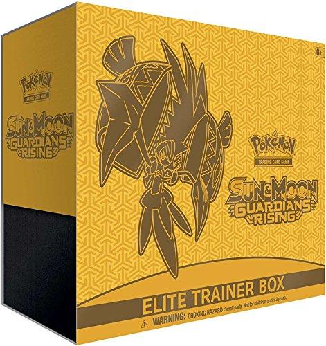 Pokemon Sun & Moon: Guardians Rising Elite Trainer Box, Multicolor (Pokemon Sun And Moon Elite Trainer Box)
