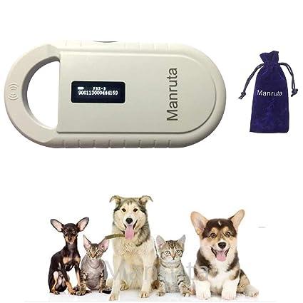 Iso Standard Mini Animal Id Rfid Reader Fdx-b 134.2khz Microchip Pet Scanner Control Card Readers