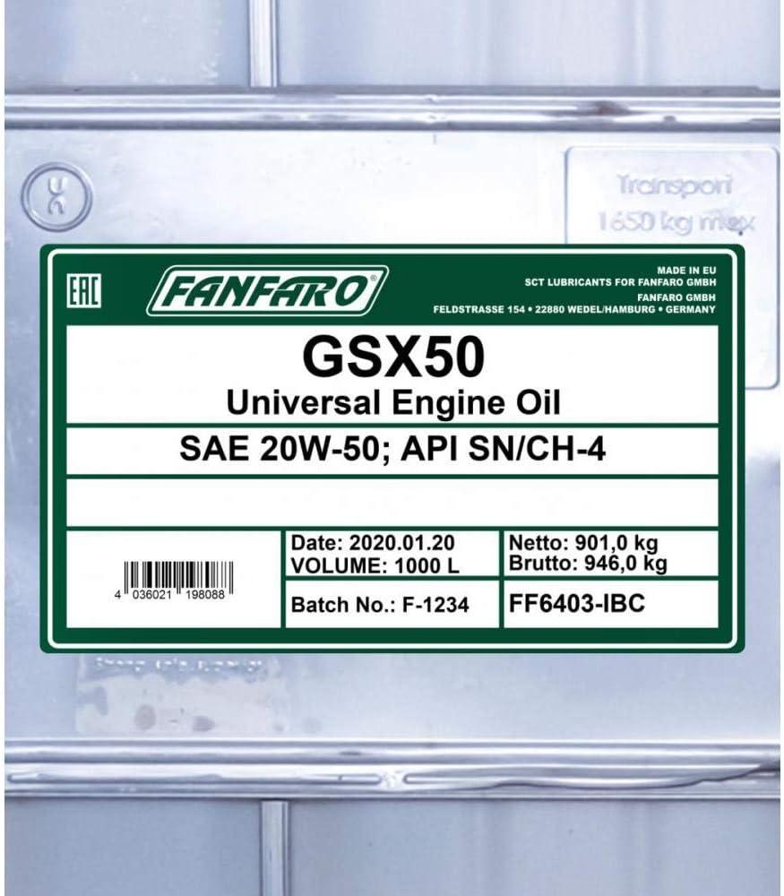1 X 10l Mannol Safari 20 W 50 Api Cf Universal Engine Oil Classic Car Auto