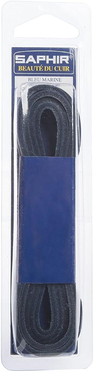 Saphir Cuadrado 4mm Cuero Cordones De Zapatos 120cm