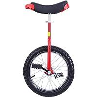 """Paneltech 16""""/20"""" Kid's/Adulte Formateur Monocycle Hauteur Réglable Anti-dérapant Butyl Montagne Pneu Équilibre Cyclisme Exercice Vélo Bike"""