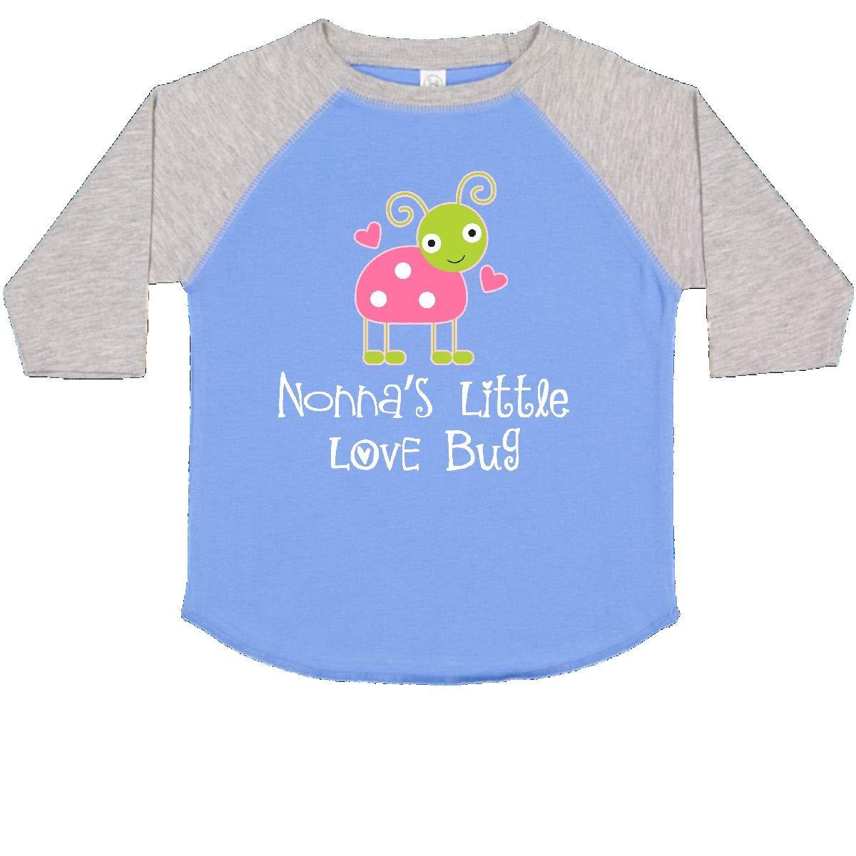 inktastic Nonna Valentine Day Girls Grandchild Toddler T-Shirt