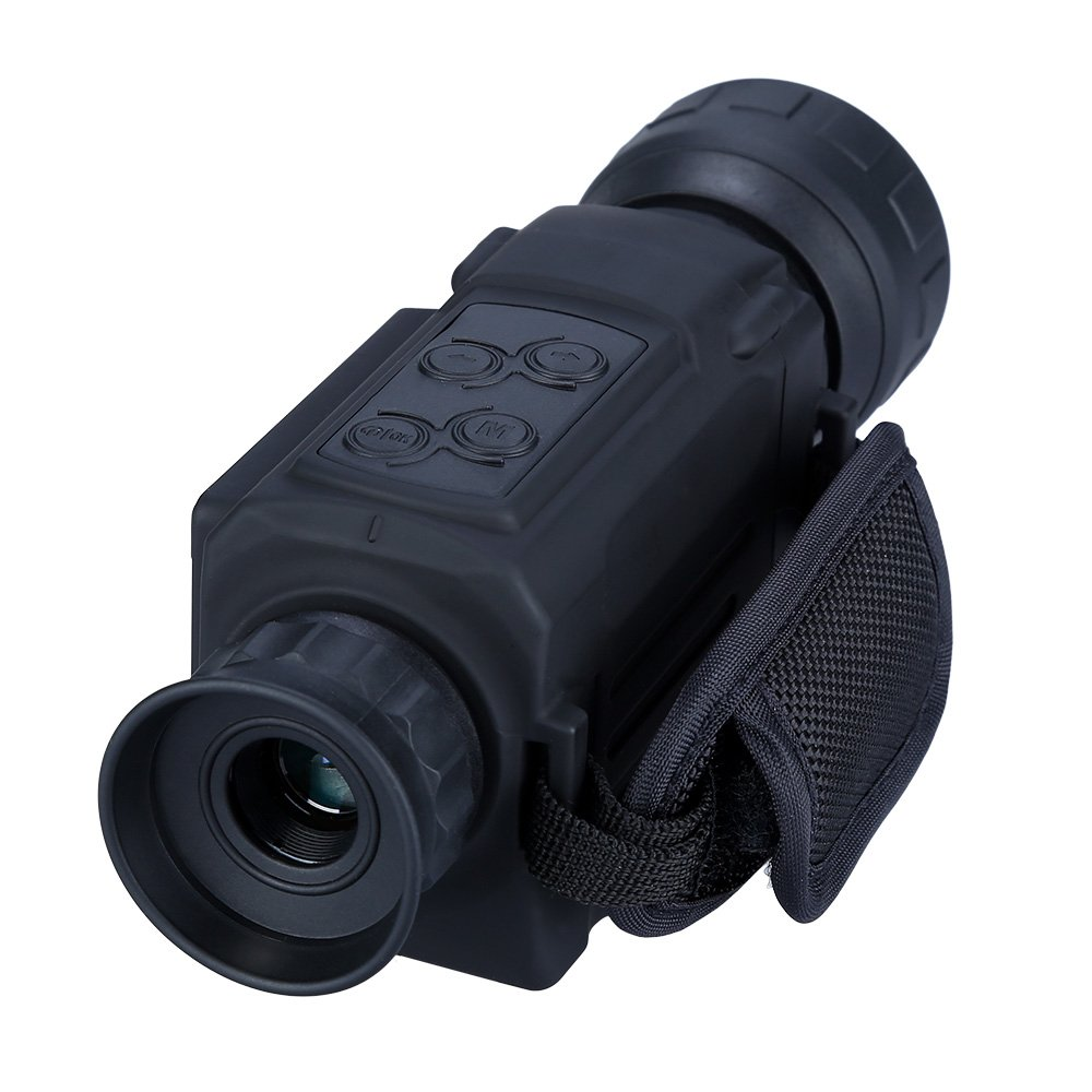 5x40mm Digtal Night Vision Monocular 200M IR Range with Image & Video Day&Night Shooting Hunting Owel Observation Scope by BOBLOV