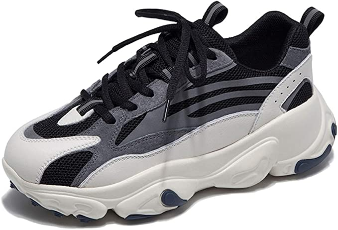 Zapatos Deporte Zapatos Casuales De Mujer De Moda Zapatos De Senderismo Transpirables Antideslizantes. Zapatos para Correr Todoterreno Portátiles (Color : Black, Size : 7): Amazon.es: Hogar