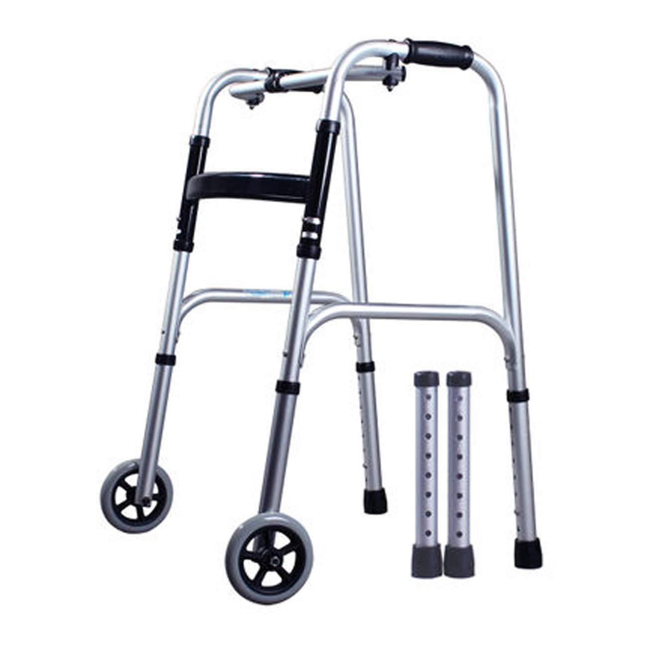 上品な 高齢者の歩行者 B)、高齢者のための歩行不能のスティック、2つのキャスターを歩く4足歩行スティック、マルチスタイルのオプション (設計 : B) B07L76G41Z (設計 B B07L76G41Z, SUZUMORIオンライン:dd187f5a --- a0267596.xsph.ru