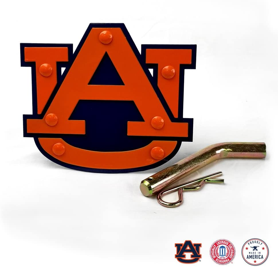 Gameday Ironworks Auburn Tigers Receiver Hitch Cover