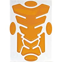 Orange Capricornone Grim Reaper Transformer Resin Domed Gel Tank Pad