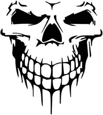 Naladoo Vinyl Skull Skeleton Body Decal Reflective Car Stickers Vehicle Styling Removable Waterproof Sticker PVC