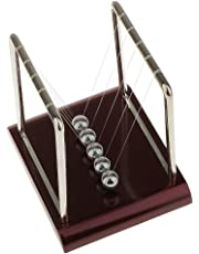 Baosity Physics Science Executive Balls Desk Office Fun Newtons Cradle Toy Square-L