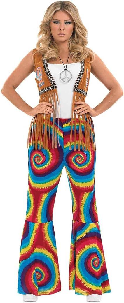 Rub Herren Kostüm Flower Power Hippie Karneval Fasching
