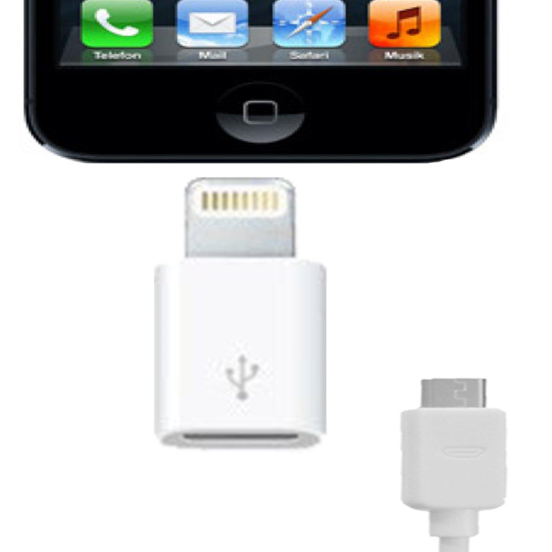 ff668449aab xubix Micro USB Connector für iPhone 5 Adapter: Amazon.de: Elektronik